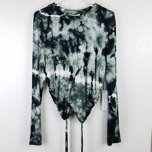 Young fabulous and broke long sleeve crew neck top
